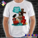 Camisa Personalizada Gospel Jesus Nos Salvou Silveirart 24 86522d0a404a8