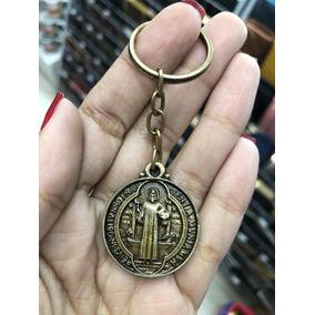 Kit Duzia De Chaveiro Com Medalha De São Bento