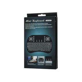 Mini Teclado Controle Wireless Htv Box Pc Android Tv Smart