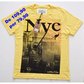 Camisa Salth Casual Masc. De 109,90 Por 79,90 Original + Nf