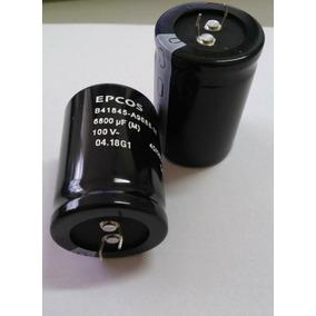 Capacitor Eletrolítico 6800uf 100v Epcos Original B41845