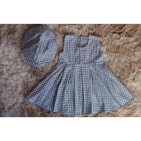 Vestido De Inverno Para Bebe Com Boina - Calçados fb30d5919dd