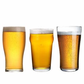 Set Cervecero Arcoroc Vasos Vidrio Cerveza Pinta 6 Unidades