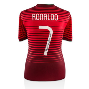 Cristiano Ronaldo Playera Firmada Portugal