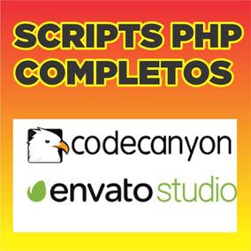 Super Pacote Com 40 Scripts Php Codecanyon/envato