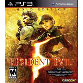 Resident Evil 5 Gold Edition Ps3 Psn Receba Hoje