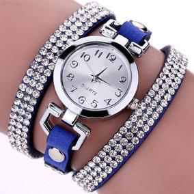 Reloj Dama Brillantes Tipo Pulsera