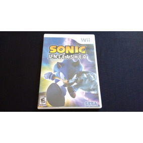 Sonic Unleashed Nintendo Wii Original Americano