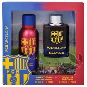 Fc Barcelona Set Edt 100 Ml + Deo Body Spray 150 Ml