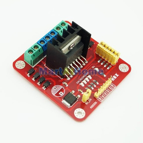Controlador Ponte H L298n - Dois Motores - Arduino Robotica
