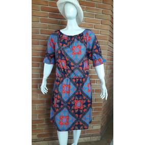23f69e4bc1 Vestido Floral Marguerite Plus Size Moda Evangélica Tam 50