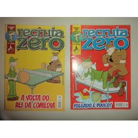 Recruta Zero 1 E 2 Editora Mythos 2007 Otimos