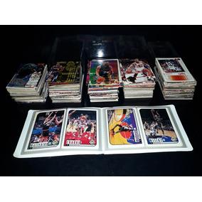 Lote +500 Cards Figurinhas Cartão Basquete 90 Antigo Nba