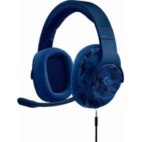 Logitech G433 Auriculares Para Gaming 7.1 (azul Camo)