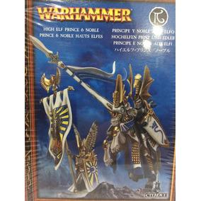 Warhammer Altos Elfos. Principe Y Noble..