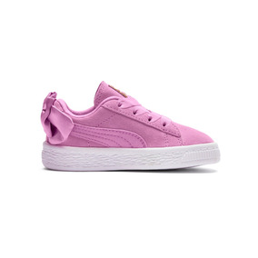 Zapatillas Puma Moda Suede Bow Ac Ps Niña Rs/rs