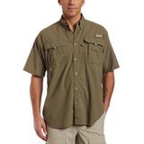 Camisa De Pesca Columbia De Manga Corta Para Hombre (sage. 6841e542d63