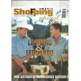 Revista Shopping Music Especial - Leandro & Leonardo