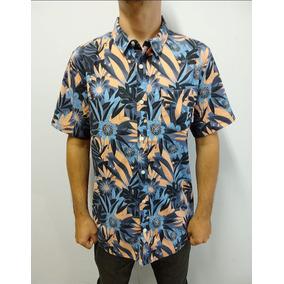 Camisa Botao Quiksilver - Camisa Manga Curta Masculino no Mercado ... a7c7be70c90a3