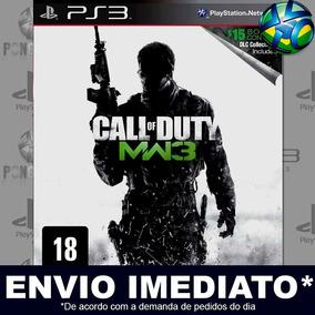 Call Of Duty Modern Warfare 3 Ps3 Mídia Digital Psn Promoção