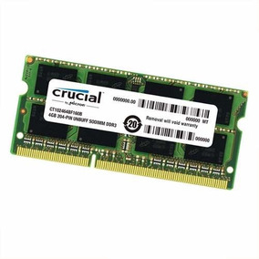 Memoria Ddr4 2133mhz Pc4-17000 Sodimm De 4gb - Para Laptop