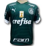 Camisa Palmeiras Com Emblema De Campeão Brasileiro