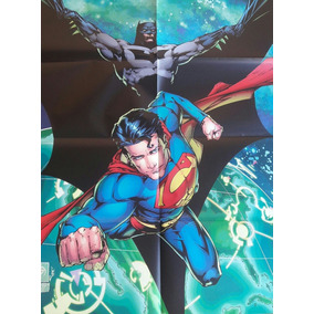 Poster Batman Superman Panini Loja De Coleções
