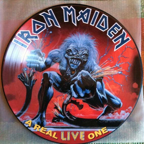 Iron Maiden - A Real Live One Lp Picture
