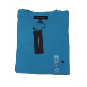Kit 2 Camisas De Malha Lisa Tommy Hilfiger - Original Tommy