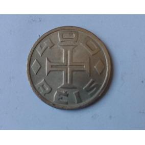 Moeda 100, 200, 400 Réis Iv Centenário Colonização 1532-1932