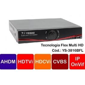 Dvr 16 Canais Flex Hd Câmeras Até 2mpixel 1080p! Envio 24hs
