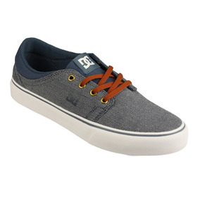 Dc Shoes Trase Azul Cafecaballero Skate Tenis Vans Nike Puma