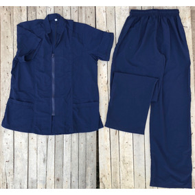 3f9411f74ba25 Kimono Quirurgico Azul Marino Oscuro T-l Conjunto Medico (fa