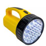 Lanterna Holofote Md 1826 Super 18 Led Bivolt Recarregavel