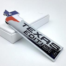 Emblemas Adesivo Texas Edition F250 Silverado S 10 Dakota