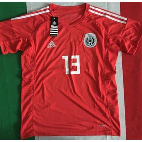 Increible Jersey Mexico Arquero Portero Memo Ochoa 13 Rojo cfd0ff376ab18