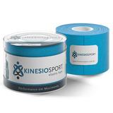 Bandagem Elastica Adesiva Kinesiosport Ks003 Azul