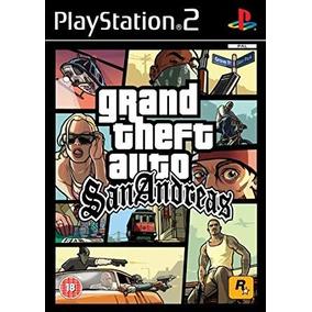 Playstation 2 Ps2 Gta San Andreas