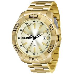 Relógio X-games Dourado Masculino - Xmgs1020 C1kx