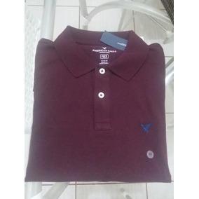Camisa Polo American Eagle - Pólos Manga Curta Masculinas no Mercado ... 4d9bf42d0f6f8
