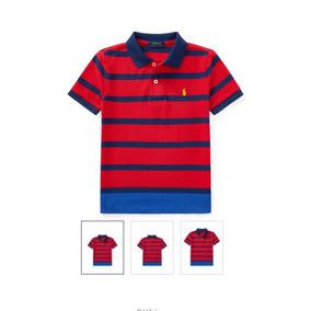 Camiseta Polo Ralph Lauren Listrada - Calçados 0eee86f749d