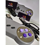 Super Nintendo Portátil 2 Controles Mil Jogos Conectou Jogou