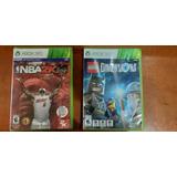 Juegos Xbox 360 Lego Dimensions Y Nba 2k14