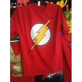 Playera Logo Flash Dc Comics