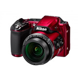 Cámara Digital Nikon Coolpix L840 Con Zoom Rojo
