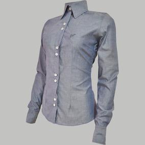 96ded74570162 Tecido Chambray Jeans - Camisas no Mercado Livre Brasil