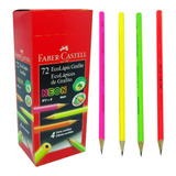 Lápis Preto Neon Faber Castell 72 Unidades