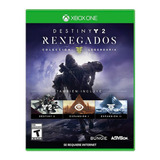 Destiny 2 Renegados Coleccion Le Xbox One Nuevo Fisico Od.st