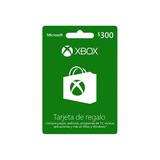 Tarjeta De Regalo Digital Xbox Live Lic Online $300