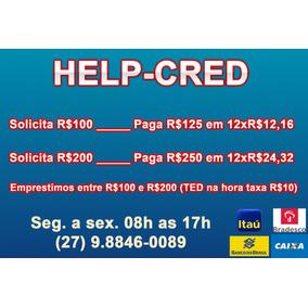 Help Cred - Empréstimo C/ Cartão De Crédito (ted)